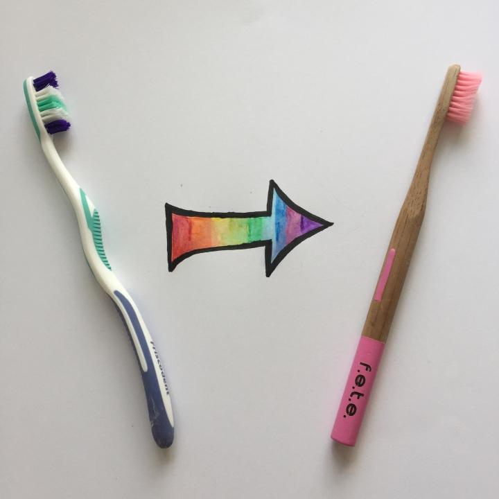 Zero Waste Swap Review Part 5- Plastic Toothbrush Vs BambooToothbrush