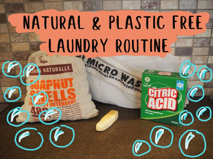 Natural & Plastic Free Laundry Routine